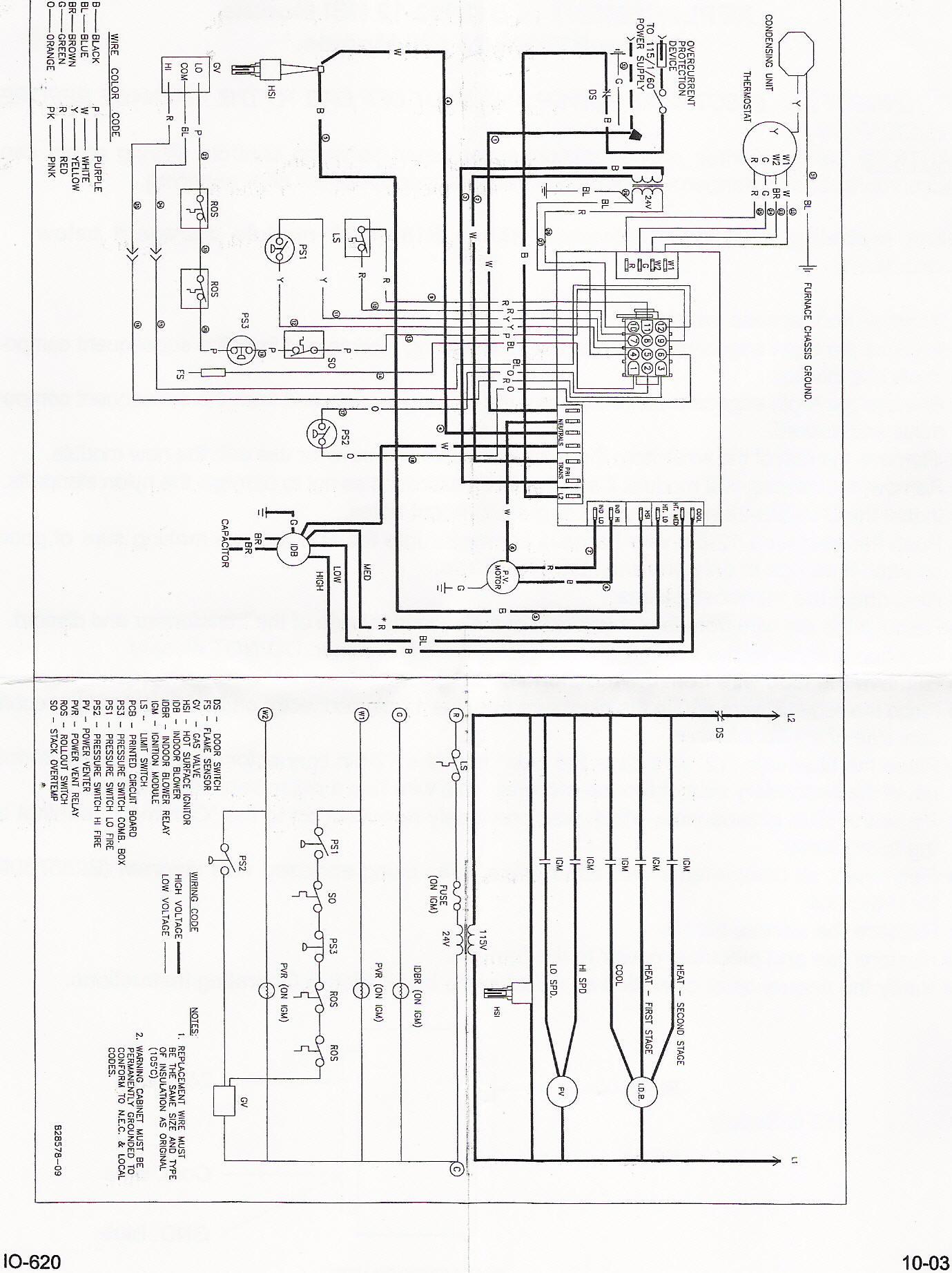 Hvac Control Board Wiring Diagram