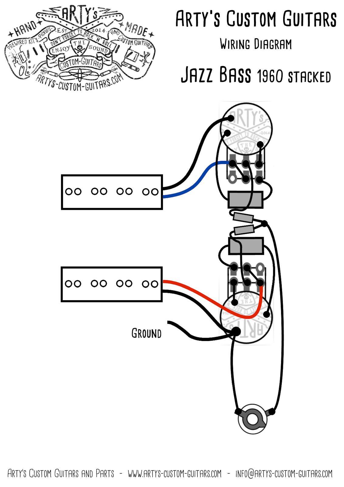 Arty S Custom Guitars Vintage Pre Wired Prewired Kit