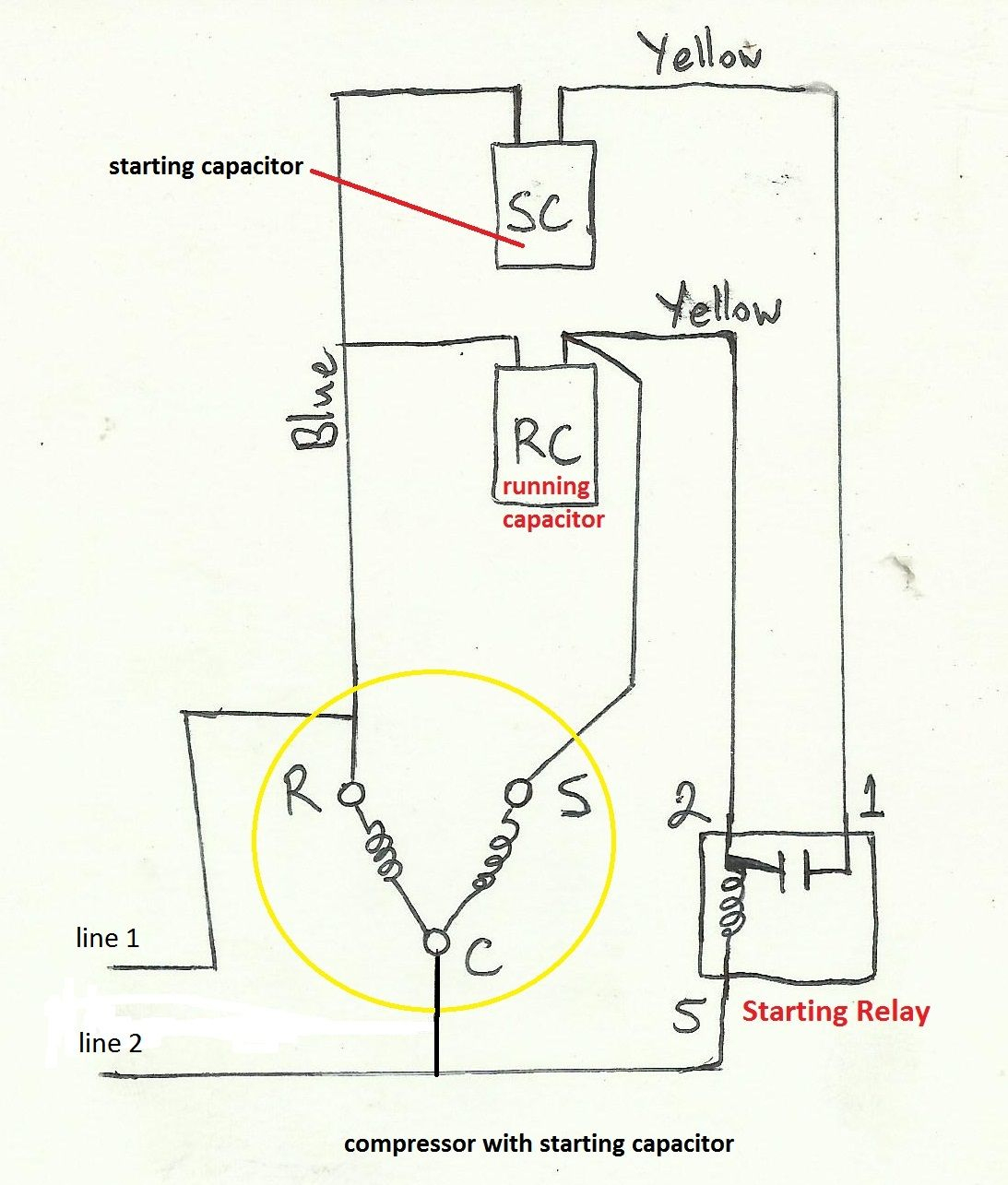 230 Single Phase Wiring Diagram