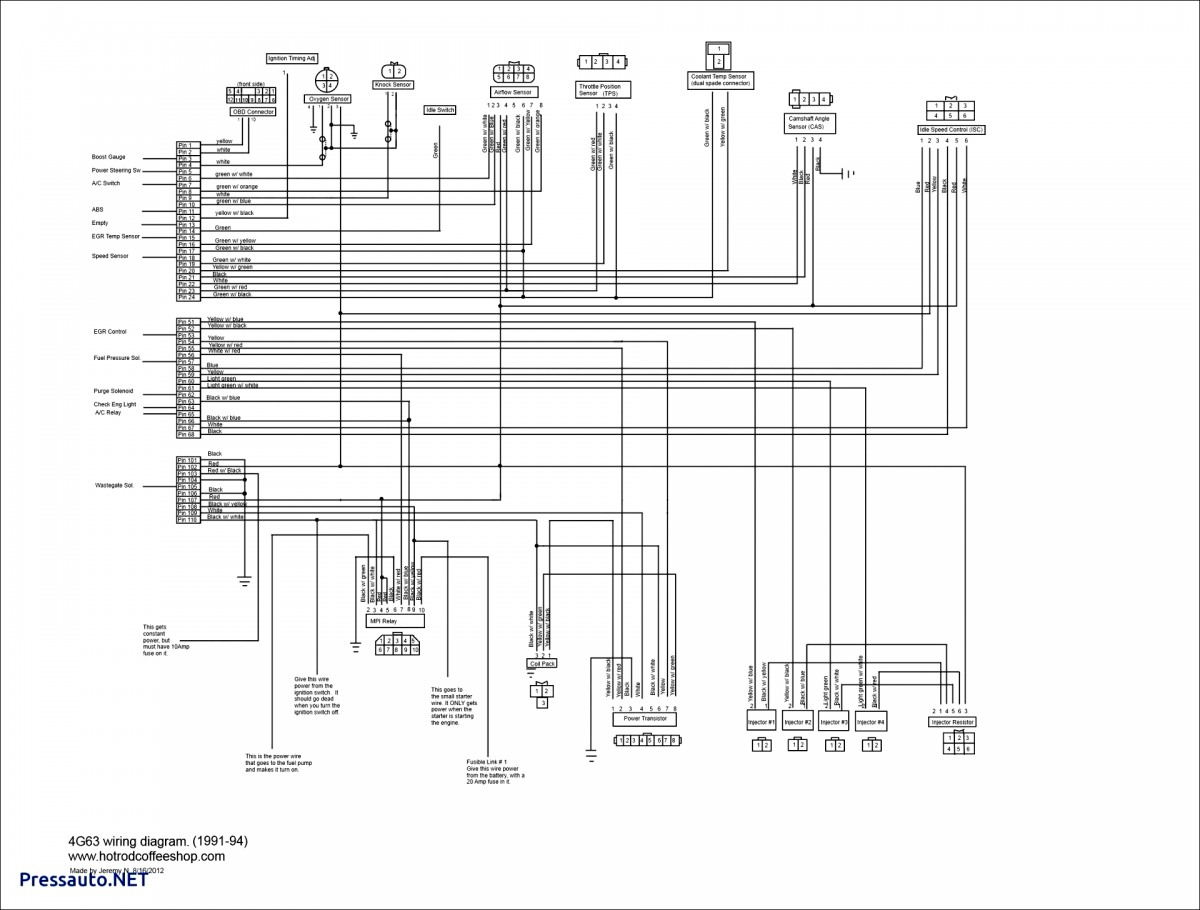 4l80e Transmission Wiring Diagram