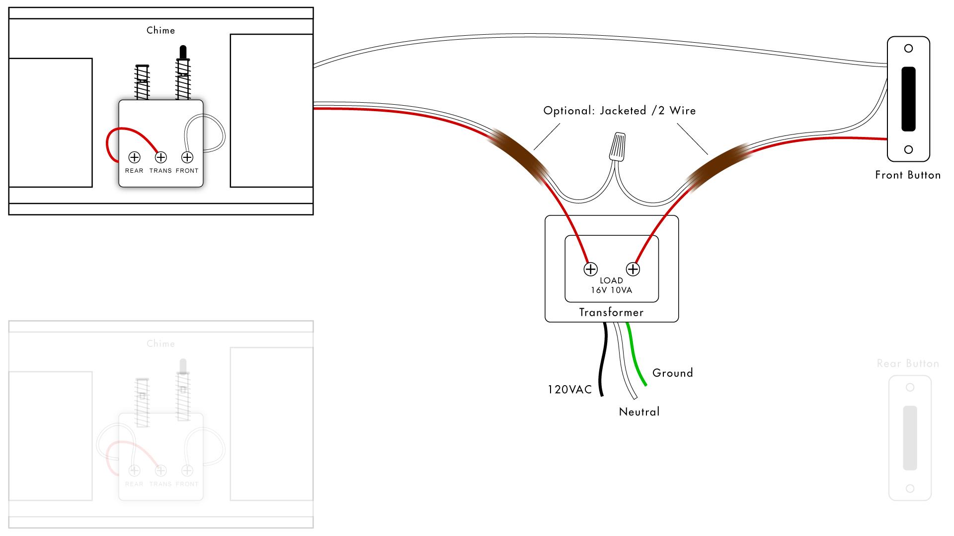 Doorbell Wiring Diagrams Diy House Help