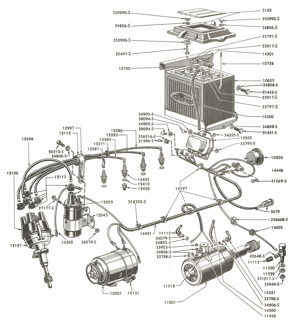 Ford 8n Wiring Diagram