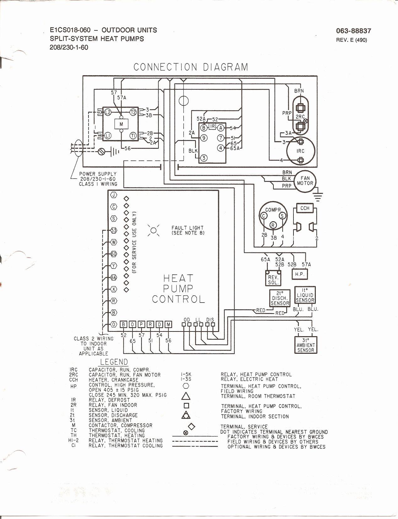 Goodman Heat Pump Thermostat Wiring Diagram To Honeywell