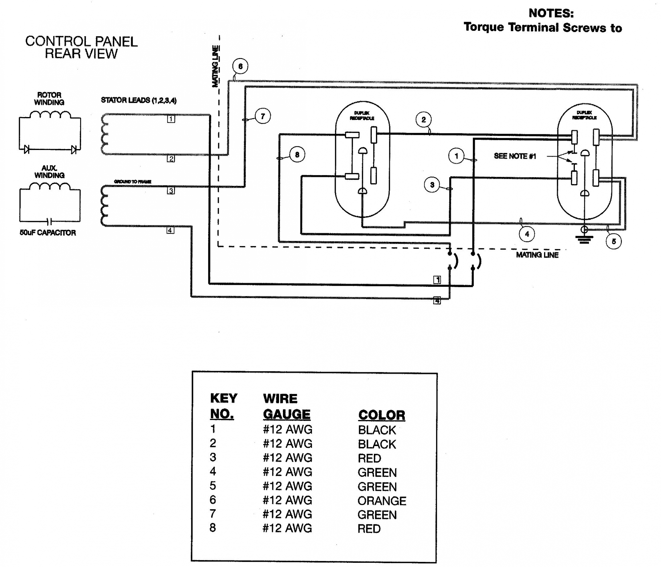 L14 30 Amp Receptacle Wire Diagram For A
