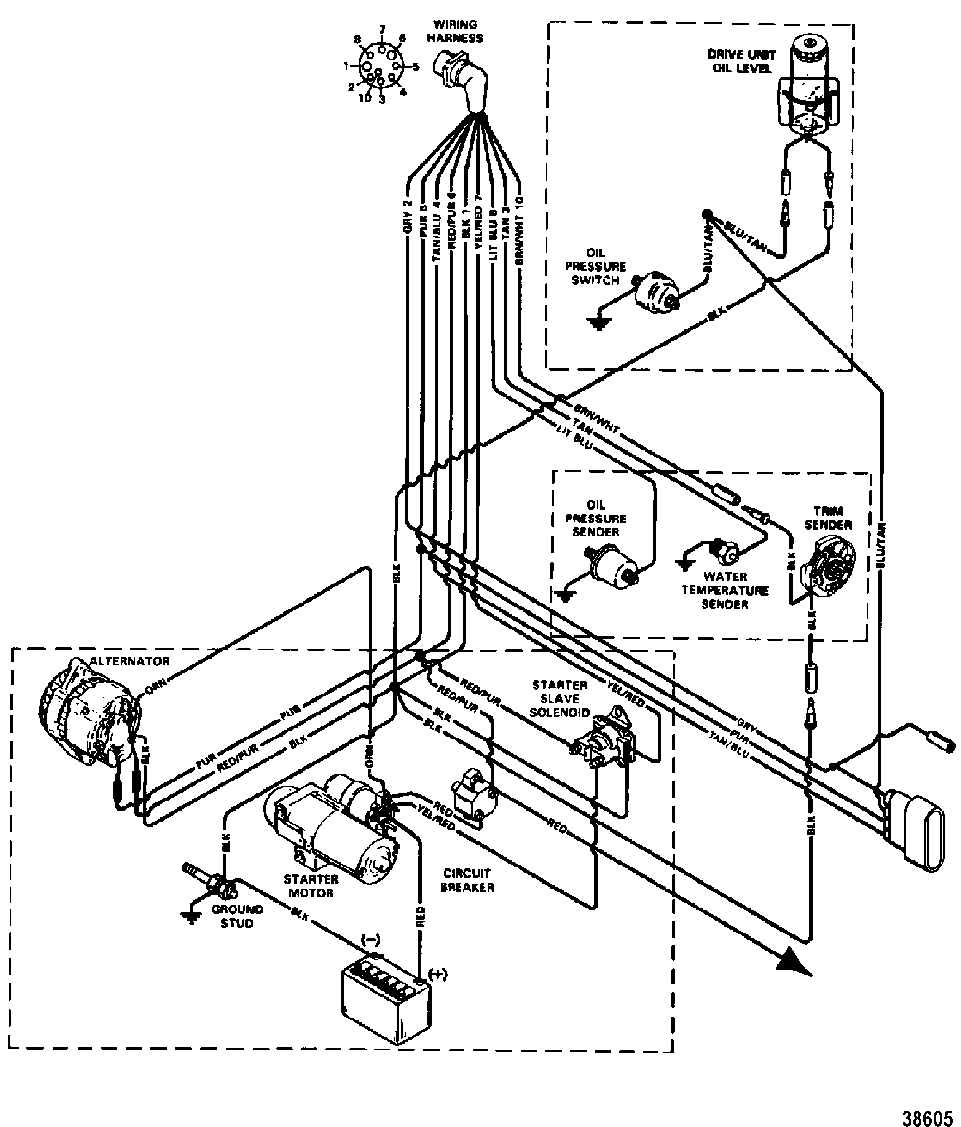Mercruiser Wiring Diagram