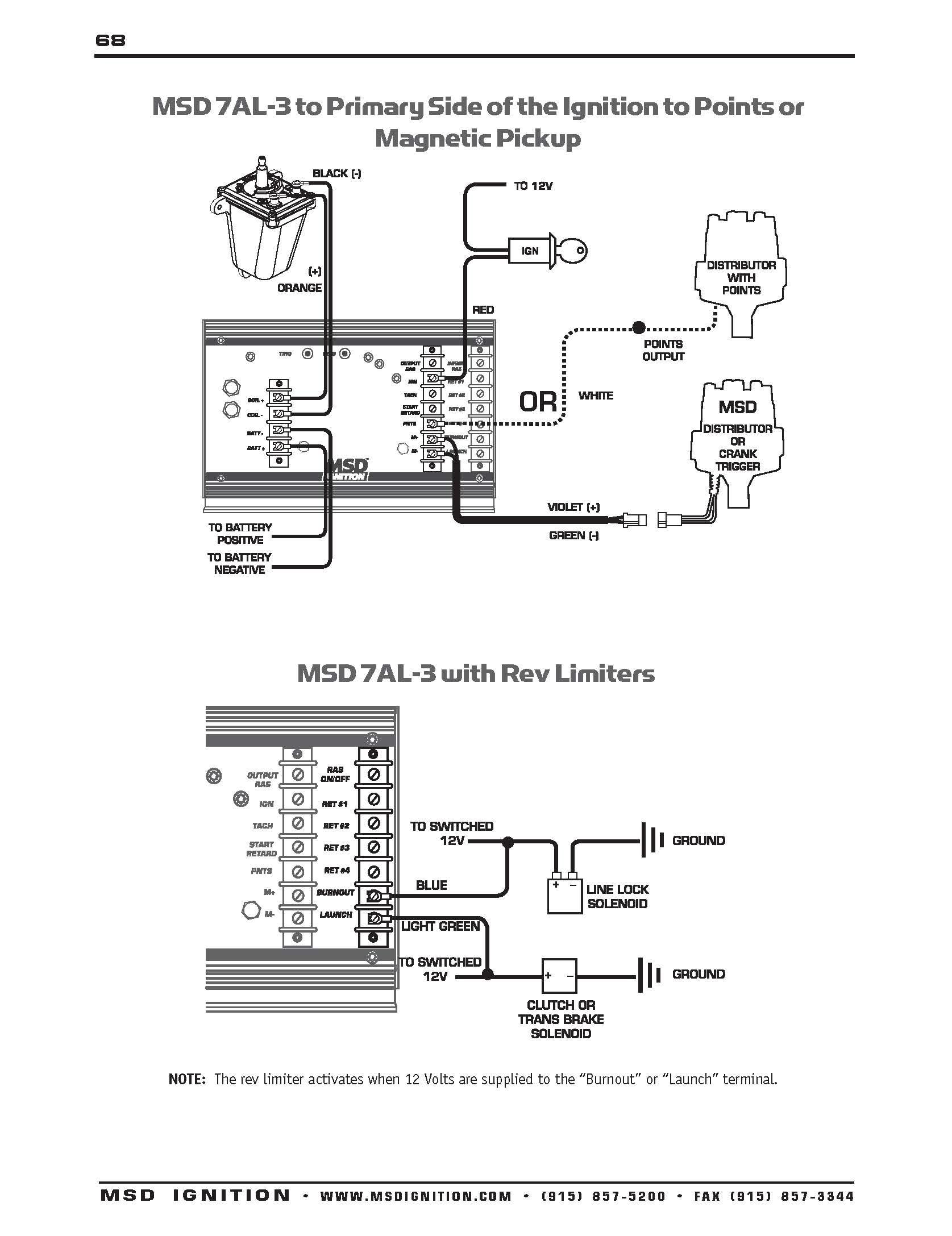 Msd 6al Wiring Diagram Chevy