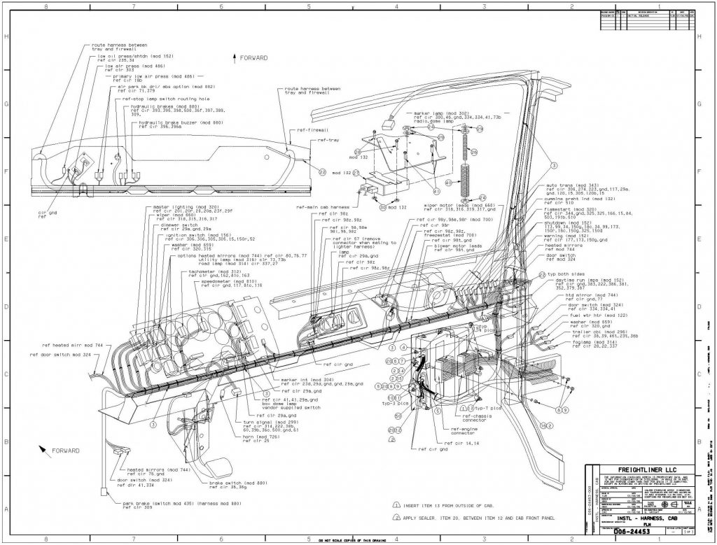 Peterbilt 320 Fuse Box Diagram