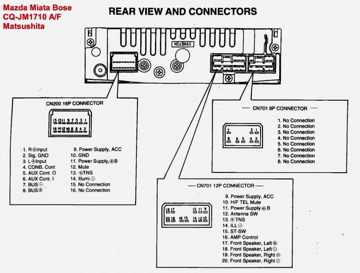 Pioneer Mixtrax Wiring Diagram