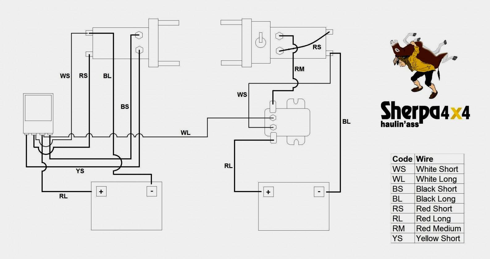 Warn Winch Wiring Diagram 4 Solenoid