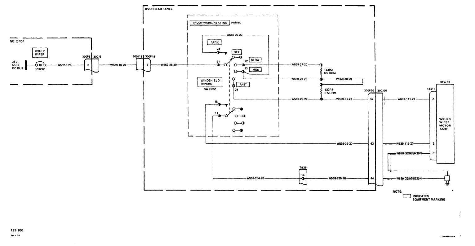 Ford Wiper Diagram