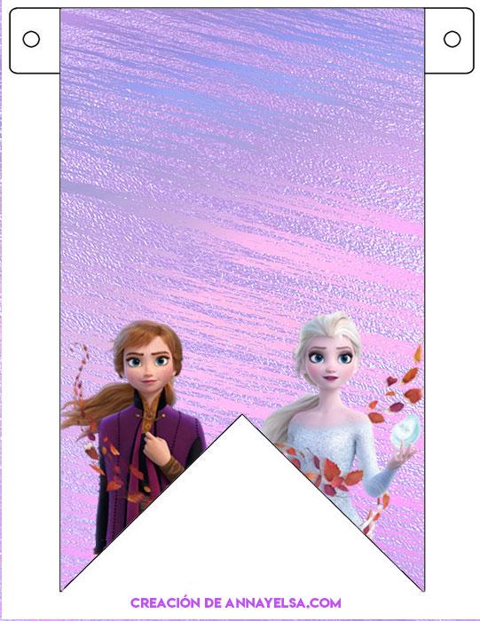 Banderines de Frozen II