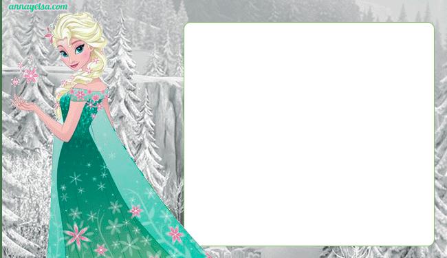 Etiquetas Elsa Frozen Fever