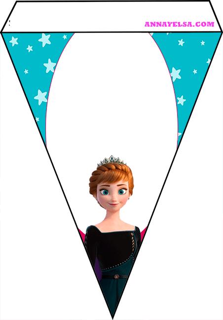 Frozen II Free printable