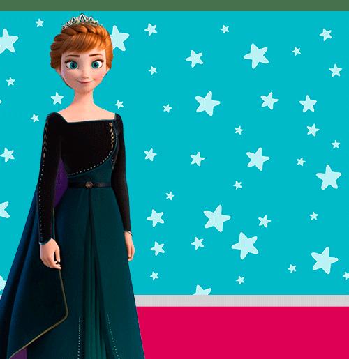 Kits Imprimibles de Anna Frozen