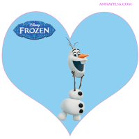 Etiquetas de Olaf