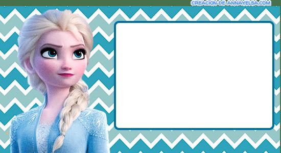 Tarjetas Anna Frozen 2