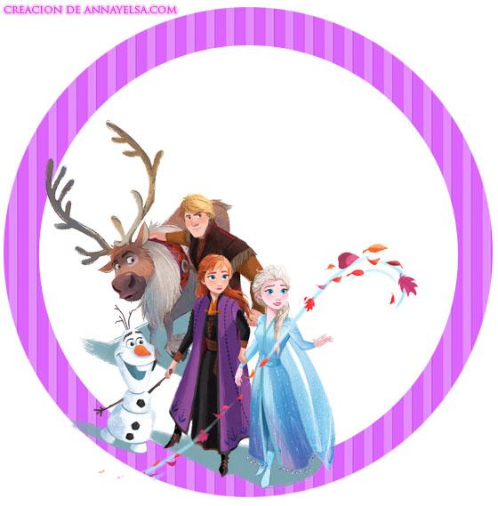 Frozen II Etiquetas