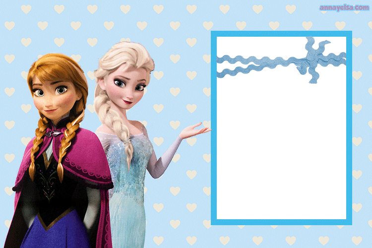 Frozen inspired free printables