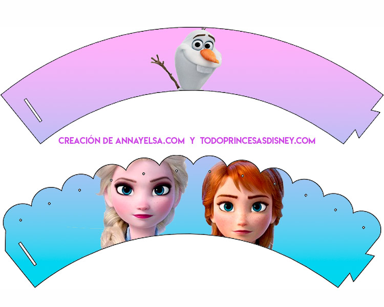 Wrappers Frozen 2