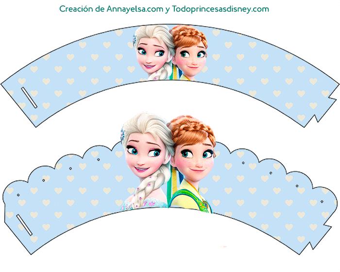 Wrappers de Frozen para decoracion