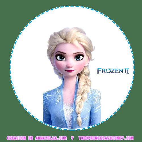 Frozen 2 ELSA Stickers etiquetas