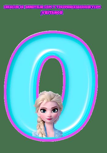 Frozen Numbers