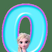 Numeros de Frozen II -Elsa-