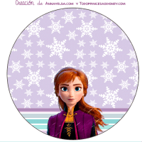 Kit imprimible de ANNA FROZEN II Descarga Gratis