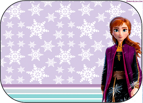 Anna Frozen 2 Etiquetas stickers
