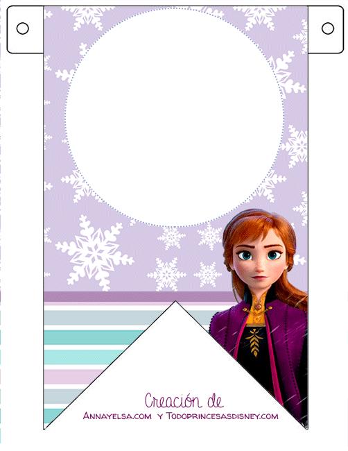 Banderines de Anna Frozen