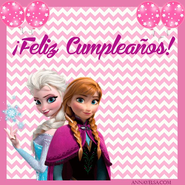 Feliz Cumpleanos Elsa y Anna FROZEN imagenes