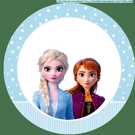 Frozen 2 candy bar para imprimir gratis