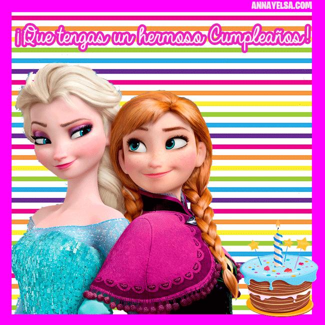Imagenes Feliz Cumpleanos Frozen