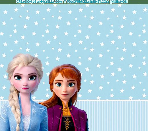 Kits Imprimibles de Frozen II