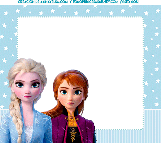 Stickers de Frozen 2 Elsa y Anna