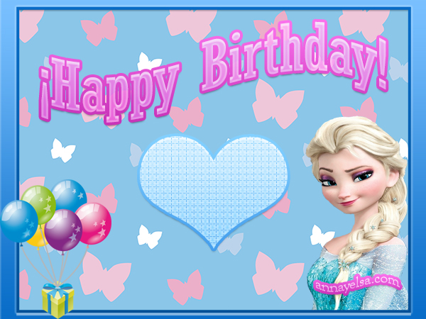 Happy Birthday FROZEN