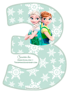 3 Frozen fever numbers free download
