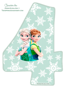 4- Frozen fever numbers
