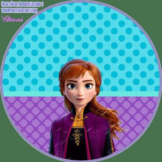 Anna Frozen 2 Free printables