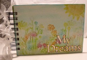 dream Journal with Stamps and Inks steph-ackerman