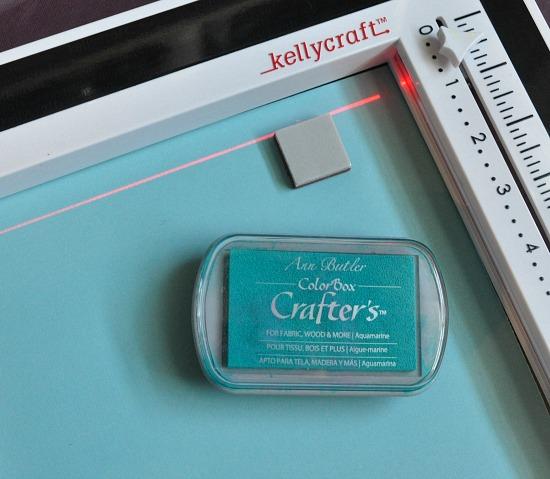 card stamp ruler