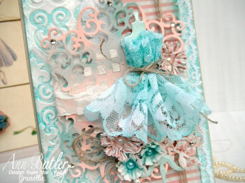Shabby Chic Mixed Media Card