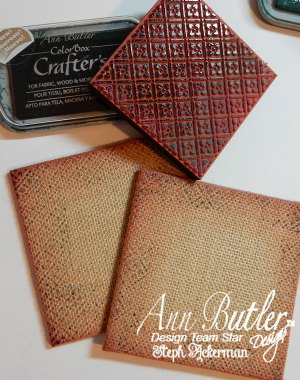 Mixed Media Burlap Canvas Panels