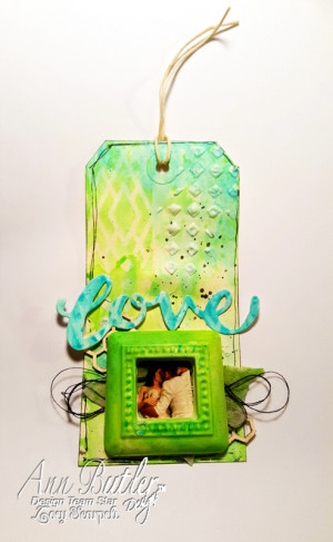 Love Tag with Crafter's Ink