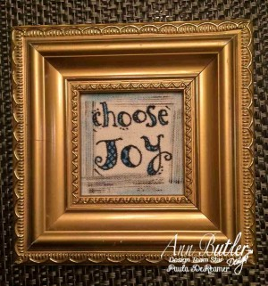 Choose Joy Frame
