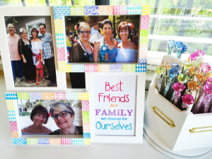 BFF Faux Quilted Frame