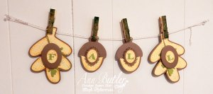 Quick and Easy Fall Stamped Banner