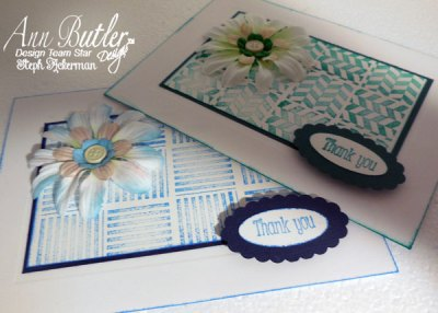 Thank You Card with Ann Butler Designs