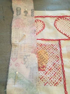 Red Work Inspired Sampler Part 4 - Finishing Touches
