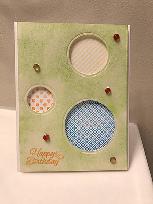 Clean and Simple Stamped Card